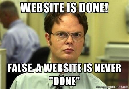 website-is-done-meme