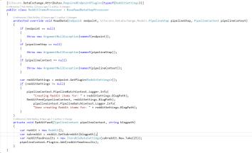 Sitecore's Data Exchange Framework Reddit Style Part 4